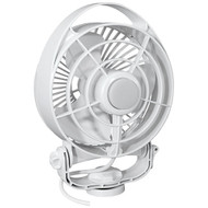 Caframo Maestro 12V 3-Speed 6 Marine Fan w/LED Light - White