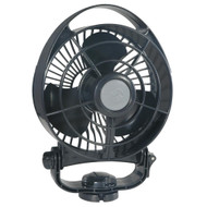 Caframo Bora 748 12V 3-Speed 6 Marine Fan - Black