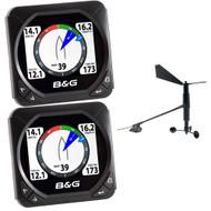 B&G Triton Speed/Depth/Wind Package w/2 Triton Displays
