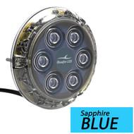 Bluefin LED Piranha P12 Underwater Light - Surface Mount - 12/24VDC 5500 Lumens - Sapphire Blue