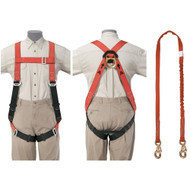 Klein Tools Fall Arrest Harness Set - Klein-Lite Tradesman's Set