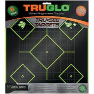 5 Diamond Target 12x12 - 6 Pack