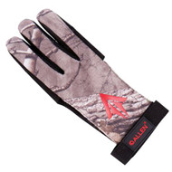 Ambidextrous Traditional Archery Glove - Small, Realtree Xtra