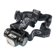 Delta Force Flashlight - HL-10 Headlamp, LED with 3 AAA Batteries Aluminum Black