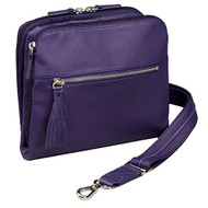 Concealed Carry Raven Shoulder Pouch - Purple