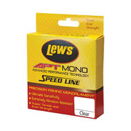 APT Fluorocarbon Speed Line - 20 lbs, 1000 Yards, Transparent Clear