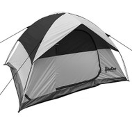 Rendezvous 4 Person Dome Tent, Gray/Black
