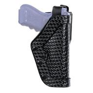 Pro 2 Holster - Jacket Slot, Size 21, Mirge Basketweave Black, Right  Hand