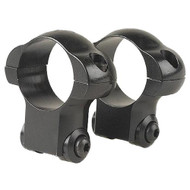 Aluminum Ring Pair - Ruger 77, 30mm, High, Matte Black