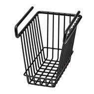 Hanging Shelf Basket - Medium, Black