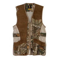 Crossover Vest - Small, Realtree Xtra/Leather -