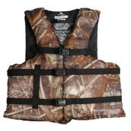 Adult Boating Max-5 Camo, Universal Vest