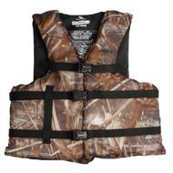 Adult Boating Max-5 Camo, Universal Vest