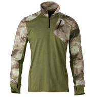 Hell's Canyon Speed MHS 1/4 Zip Top Shirt - ATACS Arid/Urban, Small