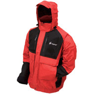 Firebelly Toadz Jacket - Large, Black/Red