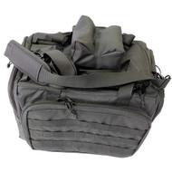 Range Bag - Deluxe, Black Nylon with Rest