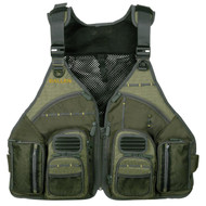 Big Horn Chest Vest with MOLLE web gear lash