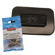 Glue-On Pad For Inflatable Boats - Black