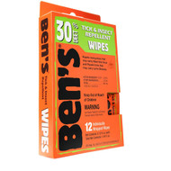 Bens - 30% Wipes (1- 12 Piece Box)