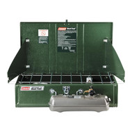 Dual Fuel Stove - 2 Burner Powerhouse