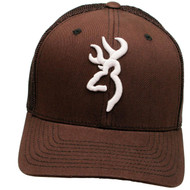 Colstrip Flex Fit Cap - Brown Large/X-Large