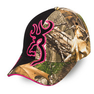 Big Buckmark Hat - Realtree Xtra/Fuchsia