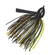 Hack Attack Fluoro Flipping Jig - 5/0 Hook, 1/2 oz, Texas Craw, Per 1