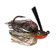 Hack Attack Heavy Cover Swim Jig - 5/0 Hook, 3/8 oz, Bluegill, Per 1