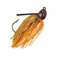 Bitsy Bug Mini Jig Lure - 3/16 oz Weight, Pumpkin Craw, Per 1