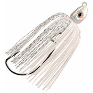 Swinging Swim Jig - 1/2 oz, 4/0 Hook, White, Per 1