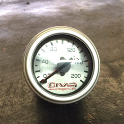 AVS 200 psi Gauge (dual needle)