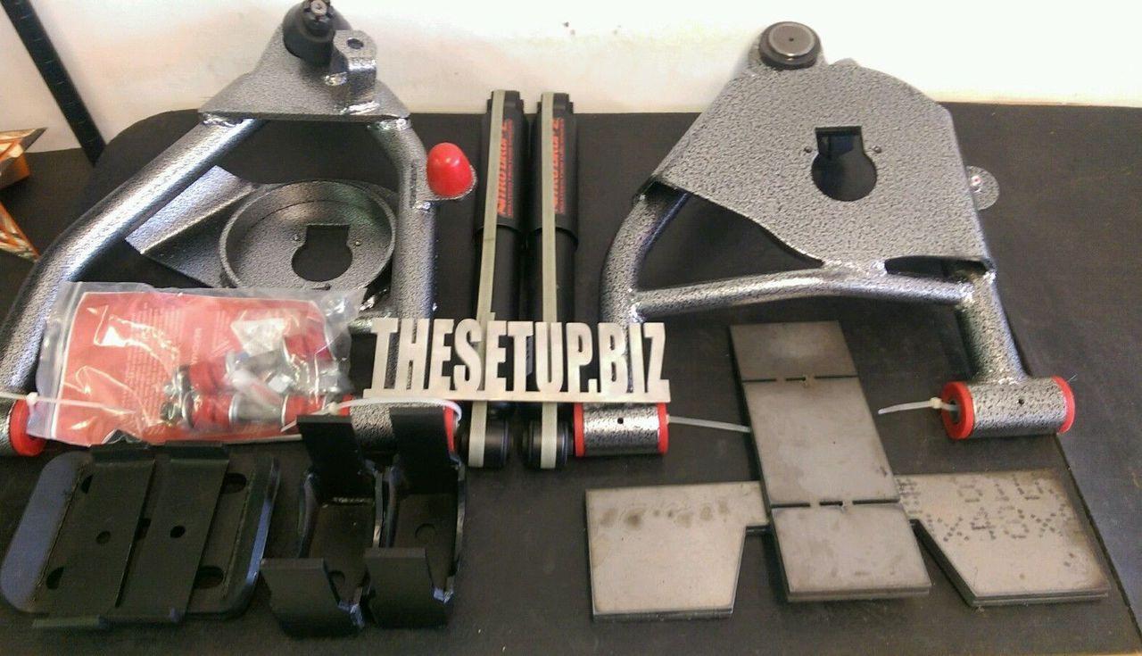 88-98 C1500//Sierra//Silverado Nitro Drop 2 Front//Rear Shocks for 4//6 Drop