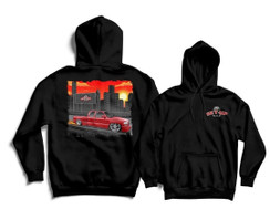 Black hoodie (10 entries for the giveaway truck