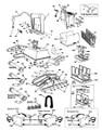AQUA PRODUCTS | BODY ASSY. (White, w/ al Holes, Lock Tabs, Outlet Botom, Inserts) - Aquabot Ultra, ULTRABOT | A22201UB