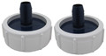 "GECKO | UNIONS, 2"" TO 3/4"" BARB BUSHING, SET OF 2 
