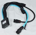 AQUA PRODUCT | JUNCTION BOX ASSY. (9-Pin Cable, 2 Pump, 2 IR, 2 Drive conections) - UMAX IR, UMAX BB IR | A2245S
