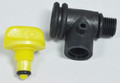 Jacuzzi®| TEE, AIR BLEED 1/4 - PVC | 42-2972-00-R