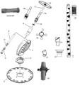BARACUDA/ZODIAC RANGER | FRAME ASSEMBLY - TURQUOISE | W69330