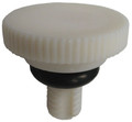 "KING NEW WATER FEEDER | KNOB, 1/4"" STEM W/Oring(91 & PRIOR) 
