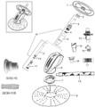 BARACUDA/ZODIAC ZOOM | HULL ASSY | W83312