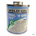 PVC GLUE | 1 QUART GLUE BLUE MB LVOC | 747 POOL'R SPA | 10852 | 747 POOL'R SPA