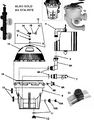 PENTAIR    filter assy (s8d110) complet   23900-1221S