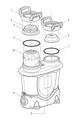 ZODIAC   CHLORINE LOCKING RING   W15259