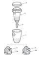 ZODIAC | 2 SADDLE CLAMP BOTTOM | W15525