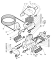 HAYWARD | BUSHING, 1W, SHARKVAC (SET OF 4) | RCX97435