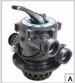 "CUSTOM MOLDED | 1-1/2"" TOP MOUNT TM-12-L REPLACEMENT VALVE INCLUDES PRE-INSTALLED 1-1/2"" BUTTRESS UNION THREAD FITTINGS FOR USE WITH STANDARD HALF UNIONS 