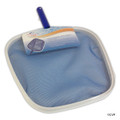 MAINTENANCE LINE | LEAF SKIMMER WITH ALUMINUM FRAME | BLUE HANDLE | PS087