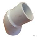 "PVC LASCO  | 1-1/2"" STREET 45^ ELL | 423-015"