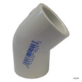 "PVC LASCO | 3/4"" SLIP 45 DEGREE ELBOW 