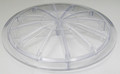 "WET INSTITUTE | LID, CLEAR, 7 3/8"" DIAMETER 
